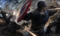 Captain America Winter Soldier Hydra Fight