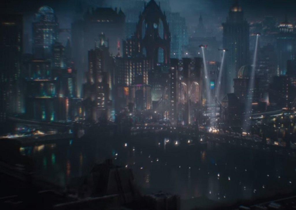 Gotham City Rain Audio Atmosphere